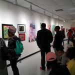 Chromotherapy Art Opening